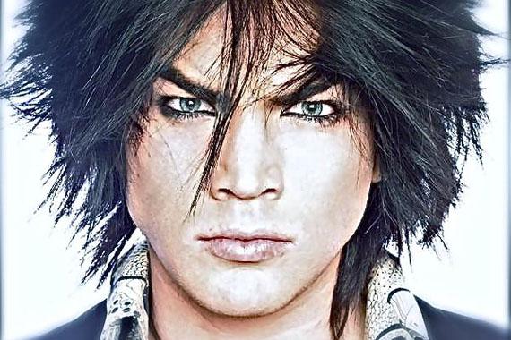 adam lambert black and white photoshoot. Adam Lambert performing Black