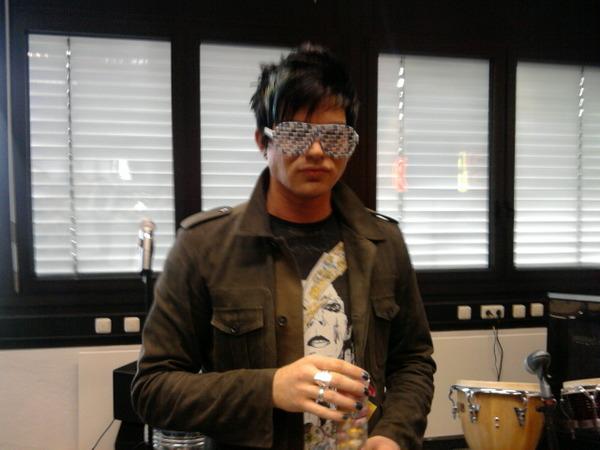 Adam Lambert-Wango Tango, Chart Toppers, and Germany Hitradio Interviews
