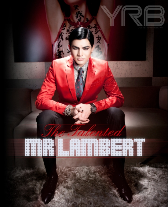 YRB Magazine Photos Of Adam Lambert