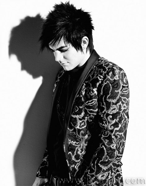 adam lambert black and white photoshoot. lambert-a-01-01