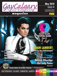 GayCalgary Magazine-Adam Lambert Interview