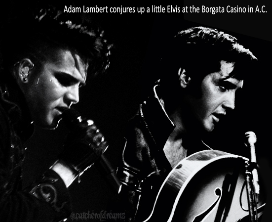 Adam Lambert Side By Side With Elvis