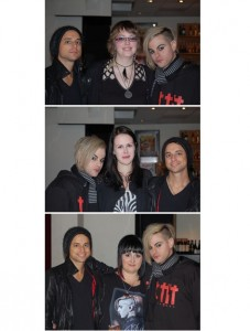 Interview from Sweden with Adam Lambert's Glam Band Members Tommy Joe Ratliff and Isaac Carpenter