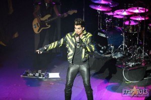 Adam Lambert Owns San Francisco's Jingle Ball