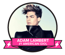 Vote Adam Lambert – TV's Greatest Music Star of All-Time!