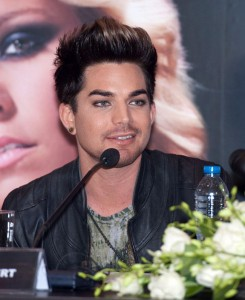 Adam Lambert at press conference in Viet Nam