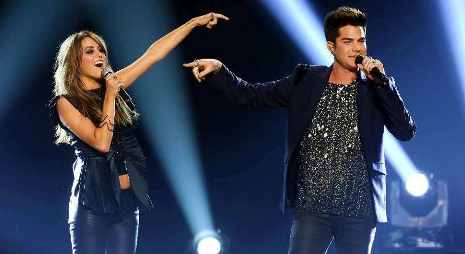 Adam & Angie Miller 5-16-13 Idol Finale