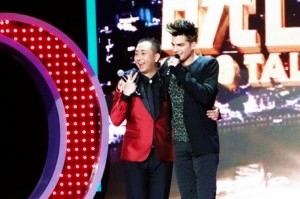 Adam Lambert Reveals on Chinese TV That He Likes To Get Cuddly With His Fans!