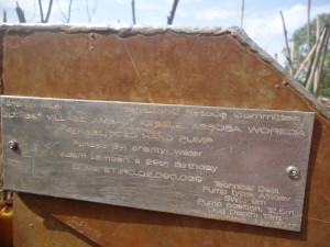 There's a Well in Ethiopia with @adamlambert 's name on it