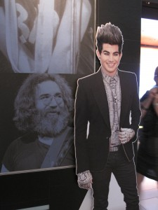 Flat Addy Friday: Adam Lambert Visits With Rock Legends!