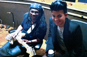 Adam Lambert Appearing with Nile Rodgers at AFTEE Dance Party – East End