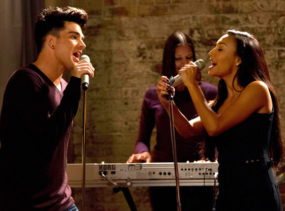 Adam and Santana Naya Rivera Adam Rose Fox