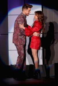 Paula Abdul Glows Introducing Adam Lambert at TrevorLIVE!