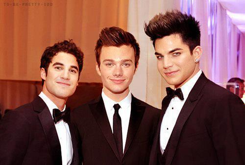 Glee trio