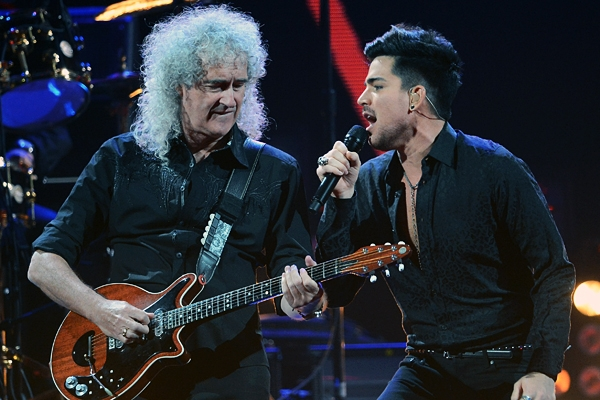 Queen and Adam
