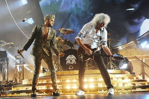 Queen + Adam Lambert Rock Wembley!