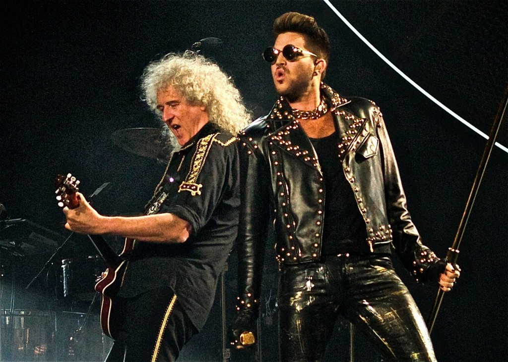 Queen leather & sunglasses