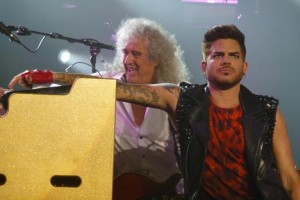 Adam Lambert and Queen, July 6, 2014