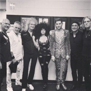 Lady Gaga Joins Adam Lambert + Queen Onstage!