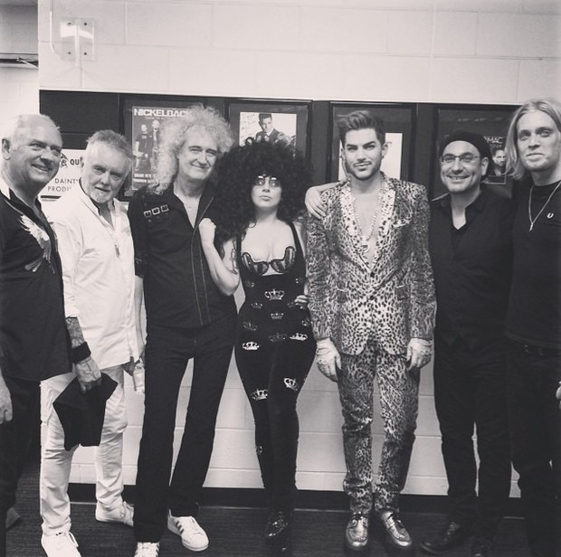 Lady Gaga and QAL