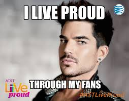 Adam Lambert's Backlot Interview: On Living Proud and Rocking Out