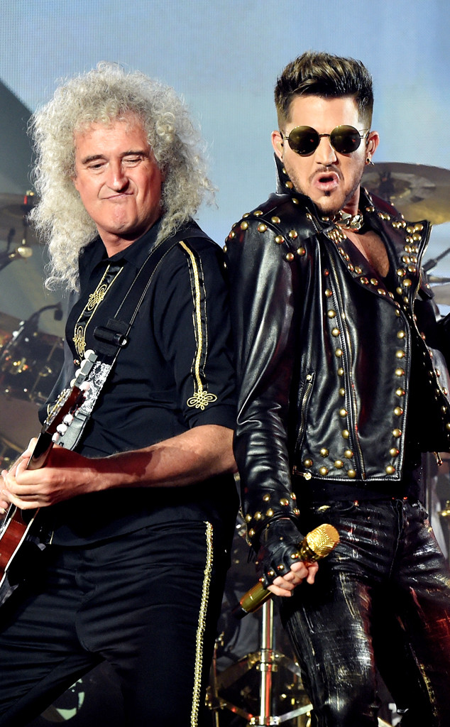 Adam and Brian May