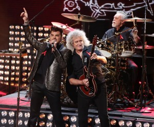 Queen + Adam Lambert Rip It Up on Britain's X Factor!