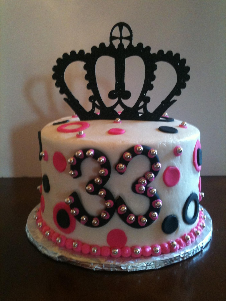 birthday cake crown