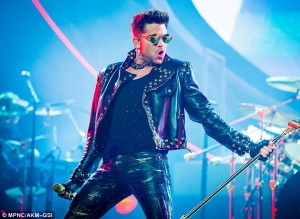 Adam Lambert Backs Into This Year's Grammy's!