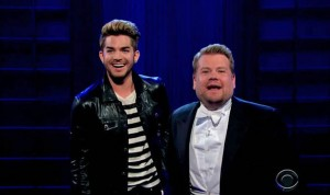 Who Crushed On Adam Lambert on The Late Late Show?
