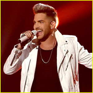 Adam Lambert Gives Superman a Run for His Money!