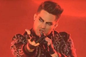 Adam Lambert Treats Everyone on X-Factor for Halloween!