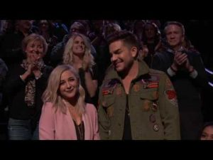 Adam Lambert & Alisan Porter – Together on The Voice
