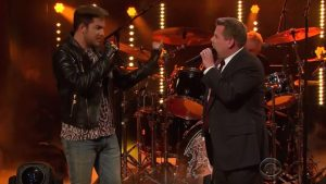 Adam Lambert Battles James Corden for Queen's Lead Singer Spot!