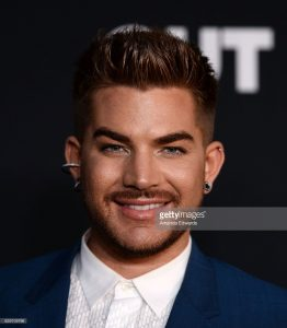 Adam Lambert On the OUT Power 50 Gala Red Carpet