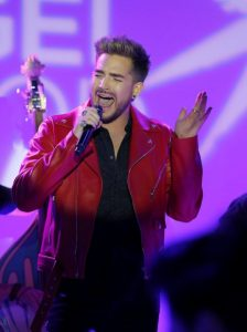 Adam Lambert Honors George Michael in Song and Fashion!