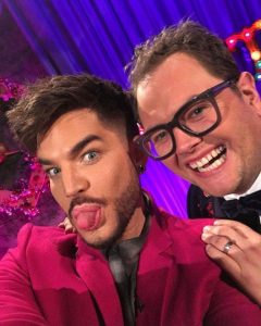 Adam Lambert Makes a Little Chatty Holiday Goof!