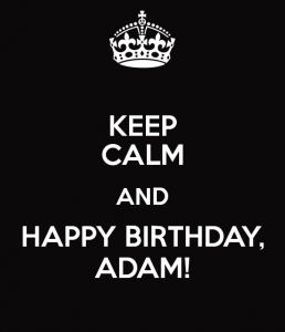 Happy Birthday Adam Lambert!!